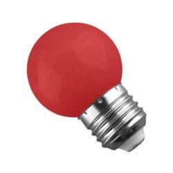 Γλομπάκι LED E27 G45 Mini 2W Κόκκινο