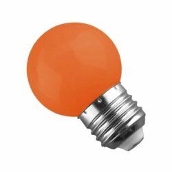 Γλομπάκι LED E27 G45 Mini 2W Πορτοκαλί