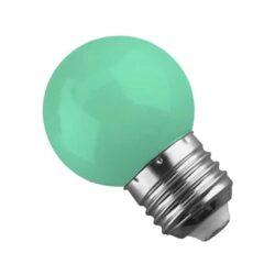 Γλομπάκι LED E27 G45 Mini 2W Πράσινο